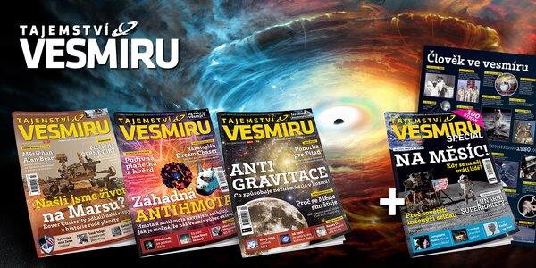 Kompletní ročník 2018 časopisu Tajemství vesmíru