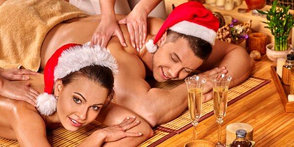 Párová masáž dle výběru ze 4 různých druhů