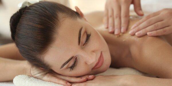 Výběr z několika relaxačních masáží 45 - 60 minut