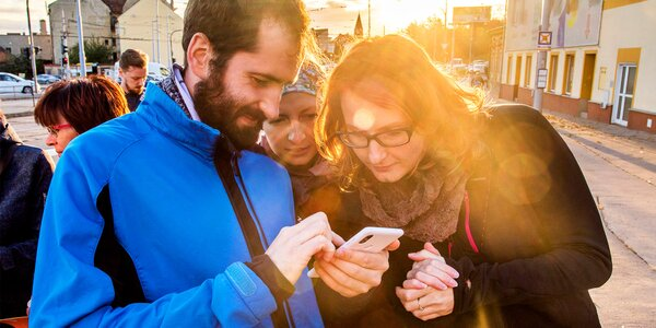 Moravský Manchester: Šifrovací hra v ulicích