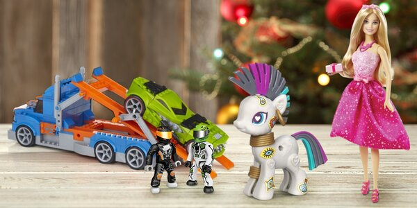 Boží hračky: Barbie, Hasbro poníci i Hot Wheels