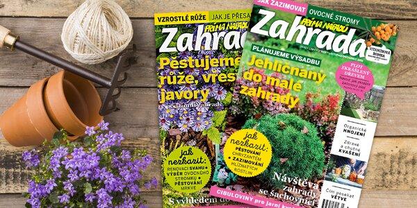 Předplatné časopisu Zahrada prima nápadů a bonus