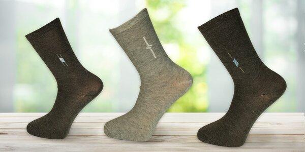 15 párů pánských ponožek - mix barev