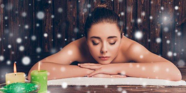 Relaxační, medová či čokoládová masáž dle výběru