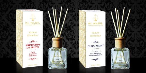 Orientální bytové difuzéry El Nabil z Dubaje