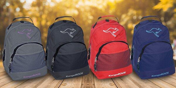 Atraktivní batohy značky KangaROOS v 5 barvách