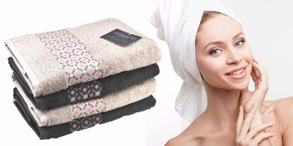 Měkoučké bavlněné froté ručníky a osušky