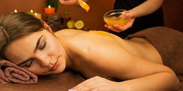 Medová detoxikačně diagnostická masáž