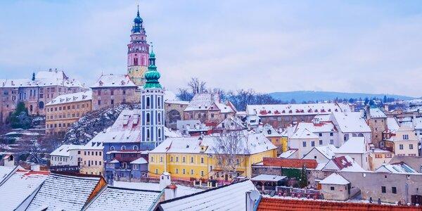 Poznávání a romantika v centru Českého Krumlova