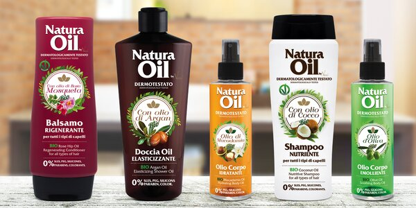 Italská kosmetika s bio oleji na tělo i vlasy