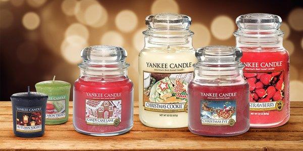 Svíčky Yankee Candle s krásnými zimní vůněmi