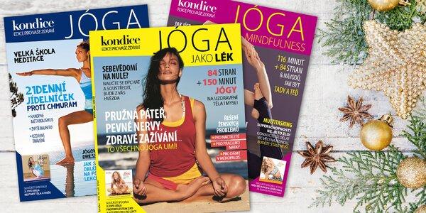 Dárkové balení 3 jóga speciálů Kondice s DVD