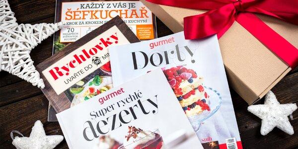 Vánoční balíček 4 speciálů časopisu Gurmet