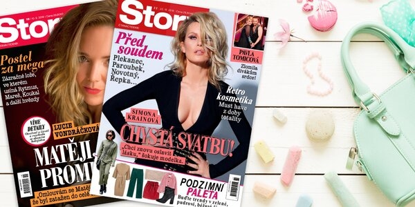 Story - časopis nabitý novinkami ze světa celebrit