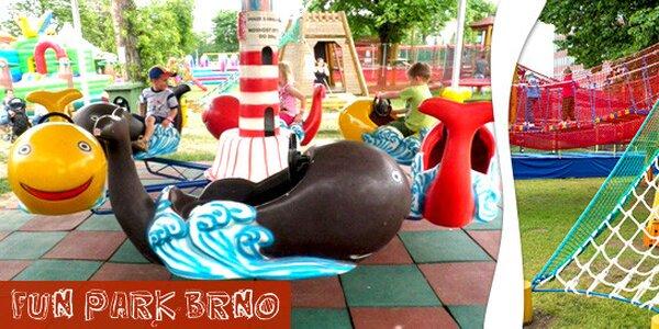 Zábava ve Fun Parku Brno na celý den
