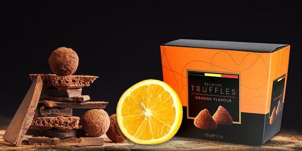 Originální čokoládové truffles v několika příchutích