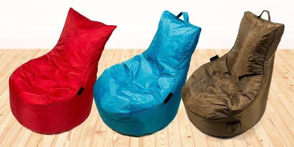 Pohodlné sedací vaky Chillin v šesti barvách