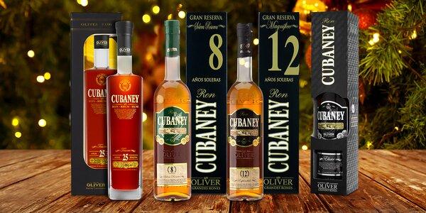 Kvalitní rumy Cubaney z Dominikánské republiky