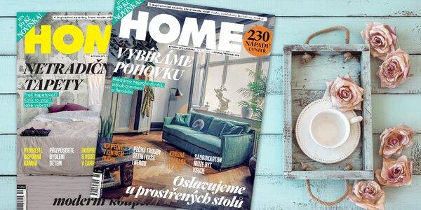 Předplatné časopisu Home o bydlení s bonusem