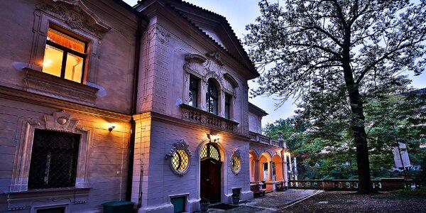 Pobyt v nádherném komorním hotelu v centru Prahy