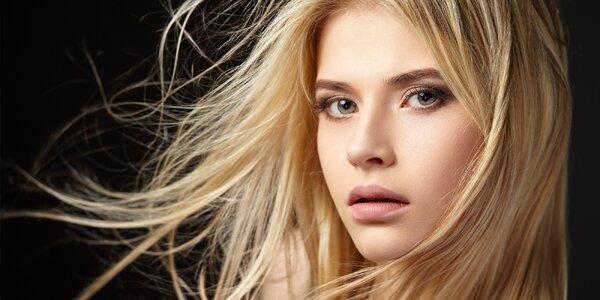 Střih a regenerace vlasů přírodní kosmetikou