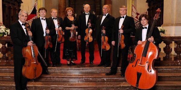 Vstupenka na koncert v chrámu sv. Mikuláše