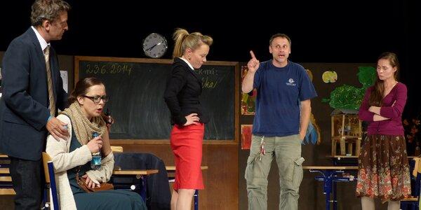 Vstupenka na divadelní představení: Úča musí pryč!