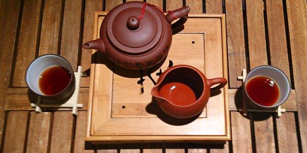 Kvalitní vícenálevový čaj a raw sušenka