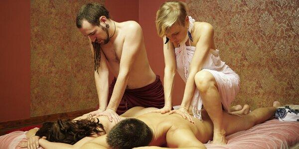 Tantra masáž s rituálem potěchy smyslů pro pár
