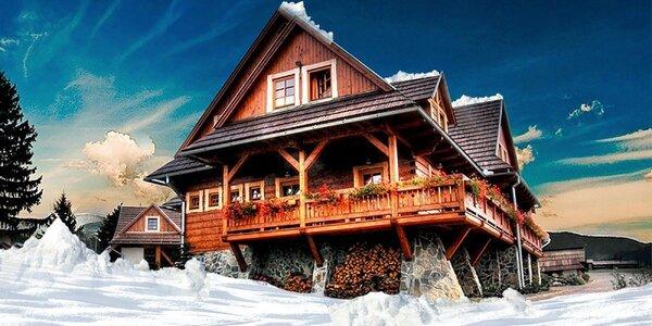 Zimní i jarní pohoda v Nízkých Tatrách s wellness