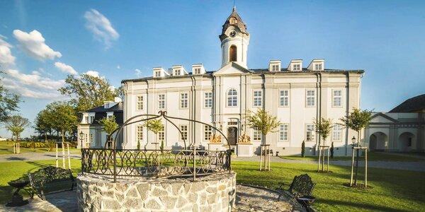 Zámecký hotel Panství s wellness a bohatou snídaní