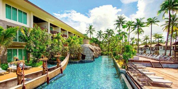 5* resort Sentido Graceland Khao Lak se snídaní