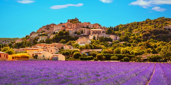 Provence, Marseille, ostrov If i Cannes a Monako