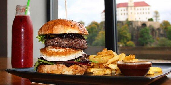 Otevřený voucher do restaurace Burger Berg