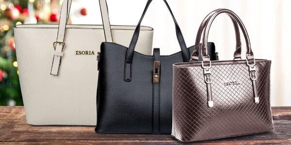 Elegantní kabelky v neutrálních odstínech