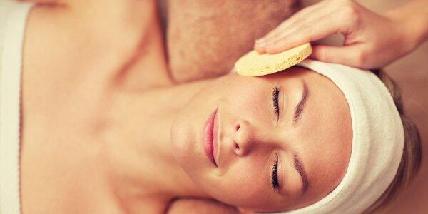 2hodinové kosmetické ošetření obličeje vč. masáže