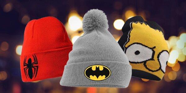 Zimní čepice filmových a seriálových hrdinů