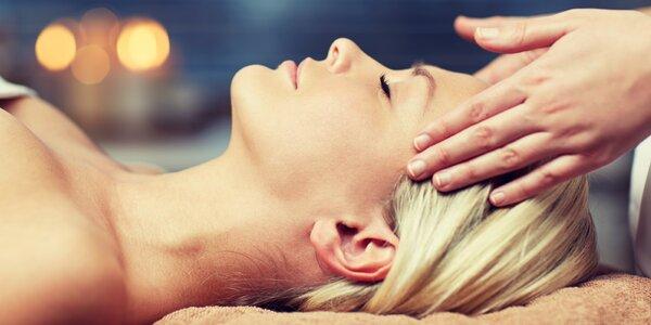 Antistresová masáž hlavy, obličeje, ramen a šíje