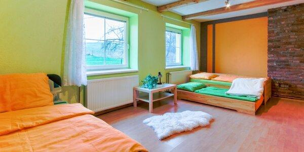 Apartmán či celá chata pro partu 10-20 osob