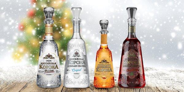 Skvělý dárek: exkluzivní vodka Russian Crown
