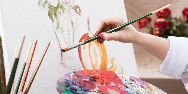 Víkendový kurz malířských technik: 16 hodin