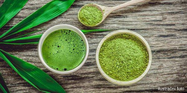 Dva teplé bio zelené čaje Matcha Tea s sebou