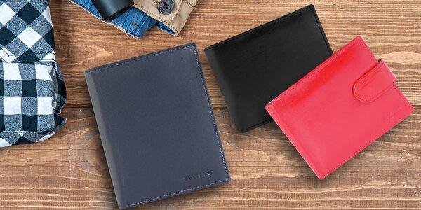 Pánské peněženky z pravé kůže v mnoha stylech