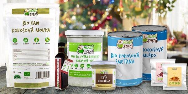Kokosové dobroty: mléko, smetana, chipsy, mouka