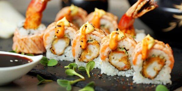 Japonské degustační menu pro dva: polévka i sushi