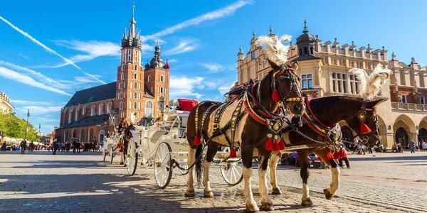 Výlet do Krakova a solných dolů ve Wieliczce