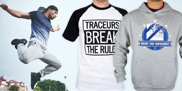 Parkourista Tary: oblečení od slavného youtubera