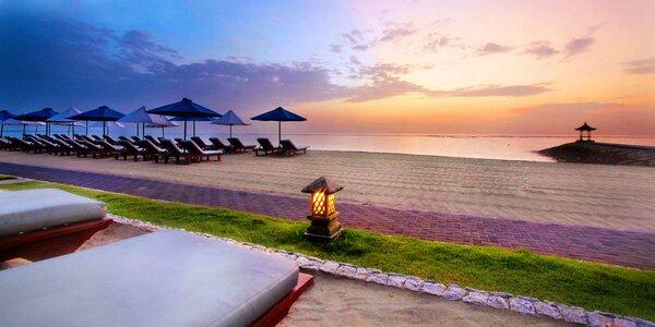 5* hotel Nikko Bali Benoa Beach se snídaní