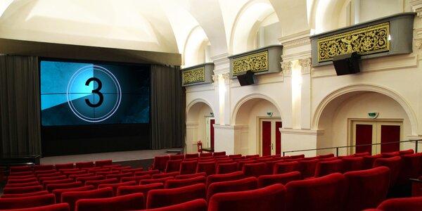 Roční členství v kině Ponrepo a 2 vstupenky