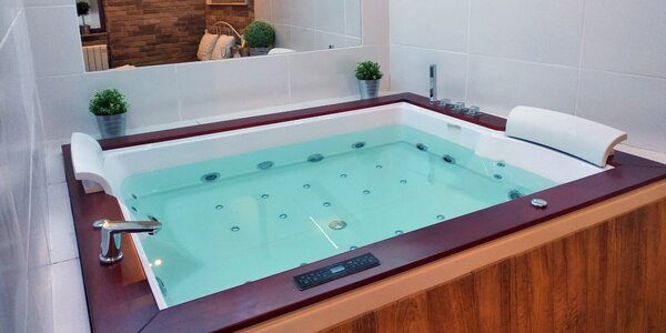 2 hod. v privátním wellness s vířivkou i saunou